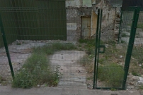 A 'before' photo of the derelict site on Kyle St