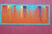 Art work on Coleman's Lane