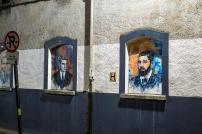 Kyle St Portraits - Thomas Kent (R), Michael Collins (L)